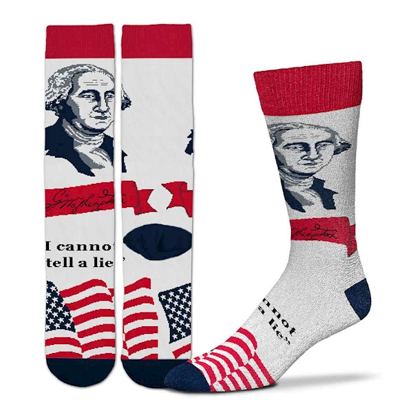 Patriotic Selfie - George Washington LARGE